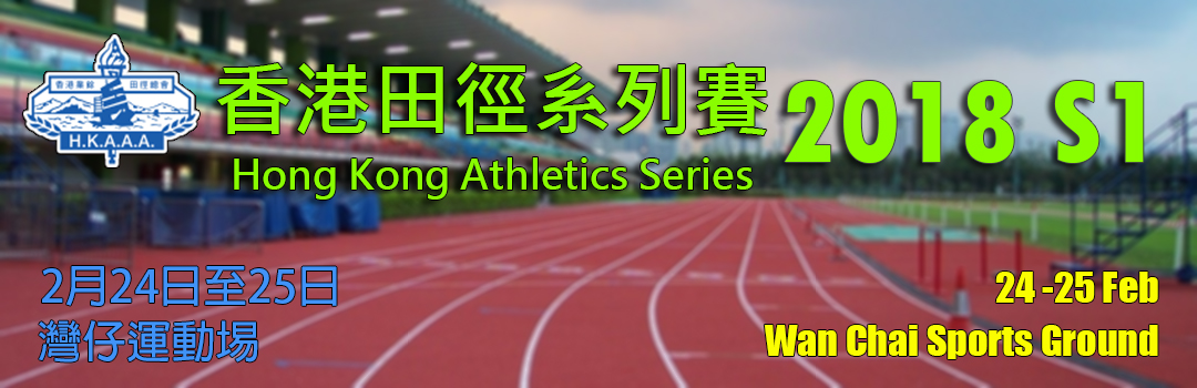 Hong Kong Athletic Series - Series 1